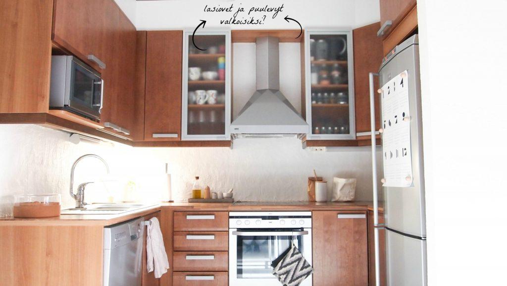 Dc-fixillä keittiön pikaremontti.