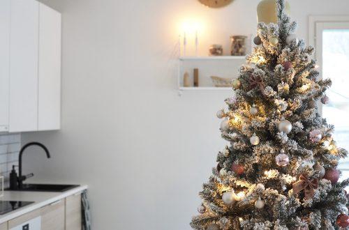 Lumihuurre joulukuusi tämän joulun hitti.